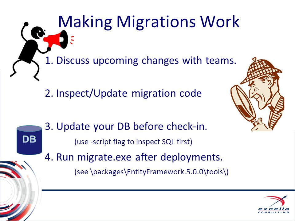 Making Migrations Work