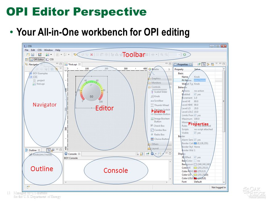OPI Editor Perspective