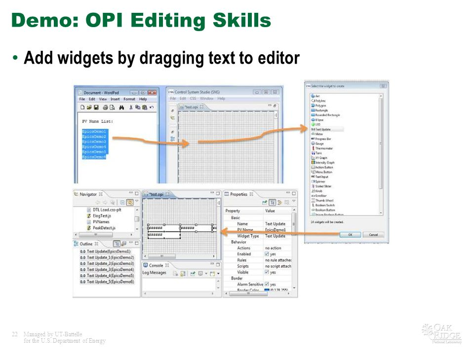 Demo: OPI Editing Skills
