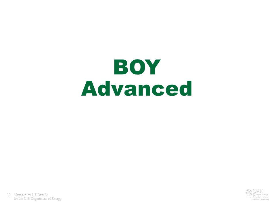 BOY Advanced