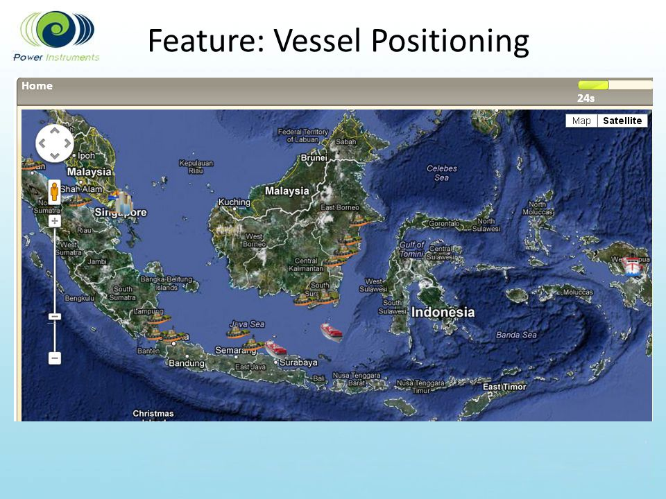 Feature: Vessel Positioning