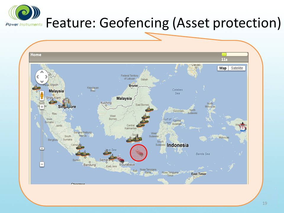 Feature: Geofencing (Asset protection)