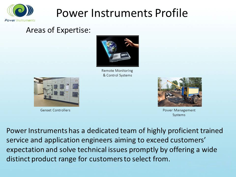 Power Instruments Profile