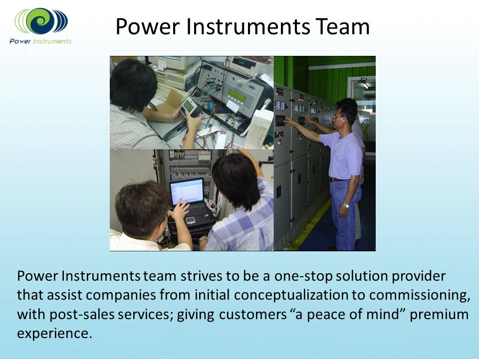Power Instruments Team