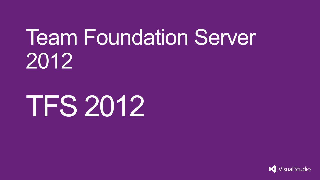 TFS 2012 Team Foundation Server 2012 Visual Studio 11 3/31/2017