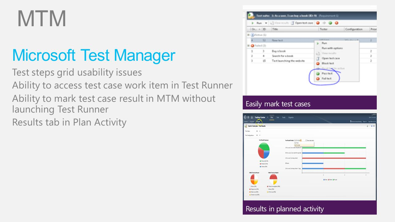 MTM Microsoft Test Manager Test steps grid usability issues