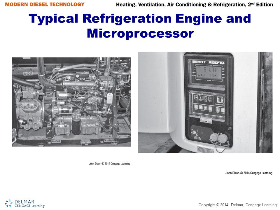 Typical Refrigeration Engine and Microprocessor