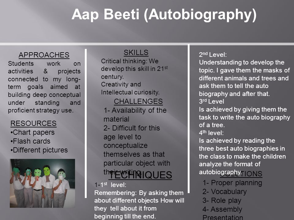 Aap Beeti (Autobiography)