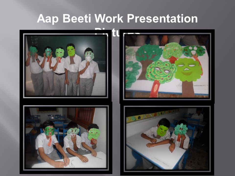 Aap Beeti Work Presentation Pictures