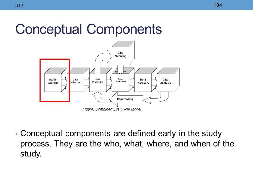 Conceptual Components