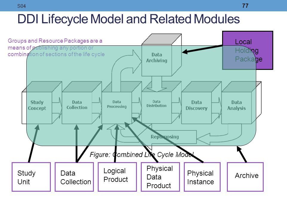 DDI Lifecycle Model and Related Modules