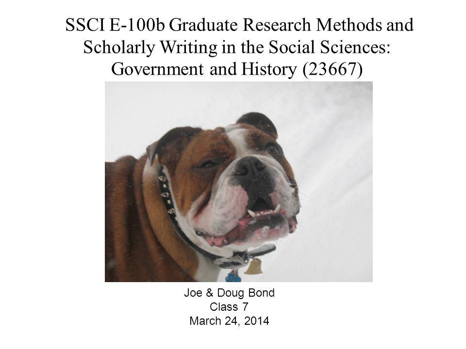 Joe & Doug Bond Class 7 March 24, 2014