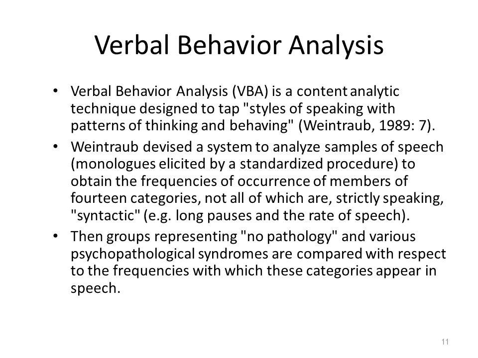 Behavior Analysis Samples. Just Read About Decision Trees To Guide