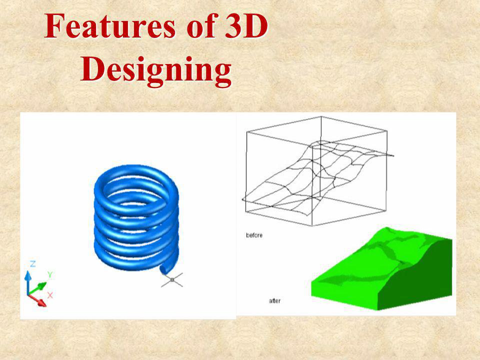 Features of 3D Designing