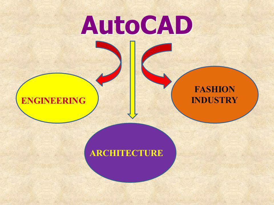 AutoCAD FASHION INDUSTRY ENGINEERING ARCHITECTURE