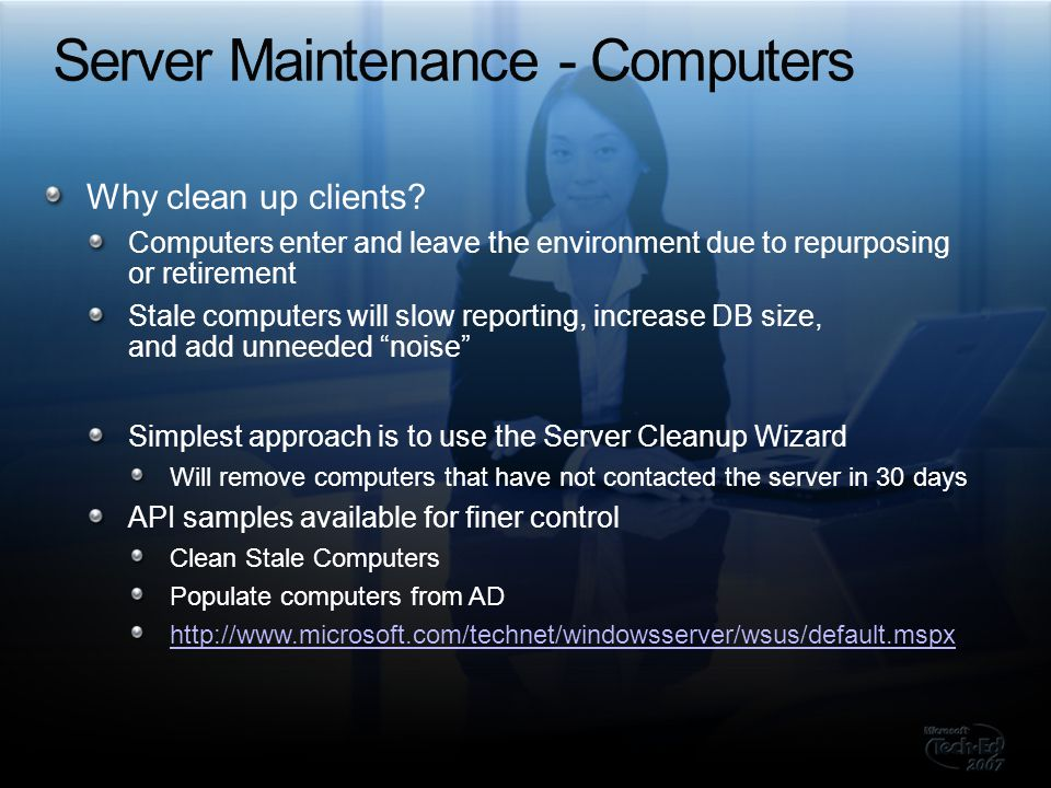 Server Maintenance - Computers