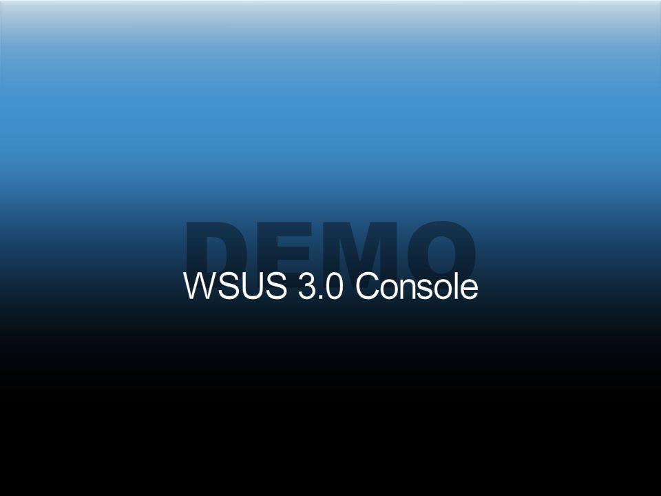 demo WSUS 3.0 Console 3/31/2017 5:38 PM