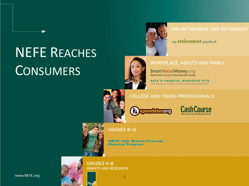 NEFE Reaches Consumers