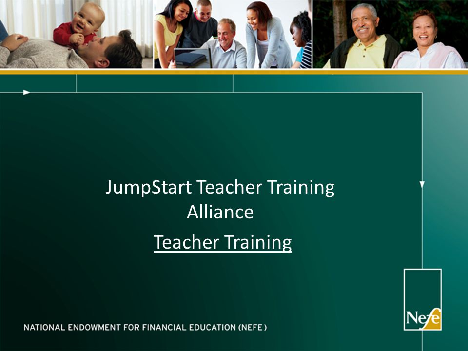 JumpStart Teacher Training Alliance Teacher Training