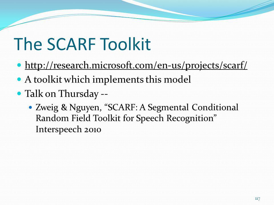 The SCARF Toolkit http://research.microsoft.com/en-us/projects/scarf/