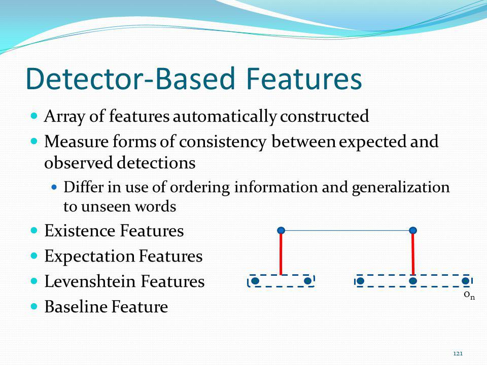 Detector-Based Features