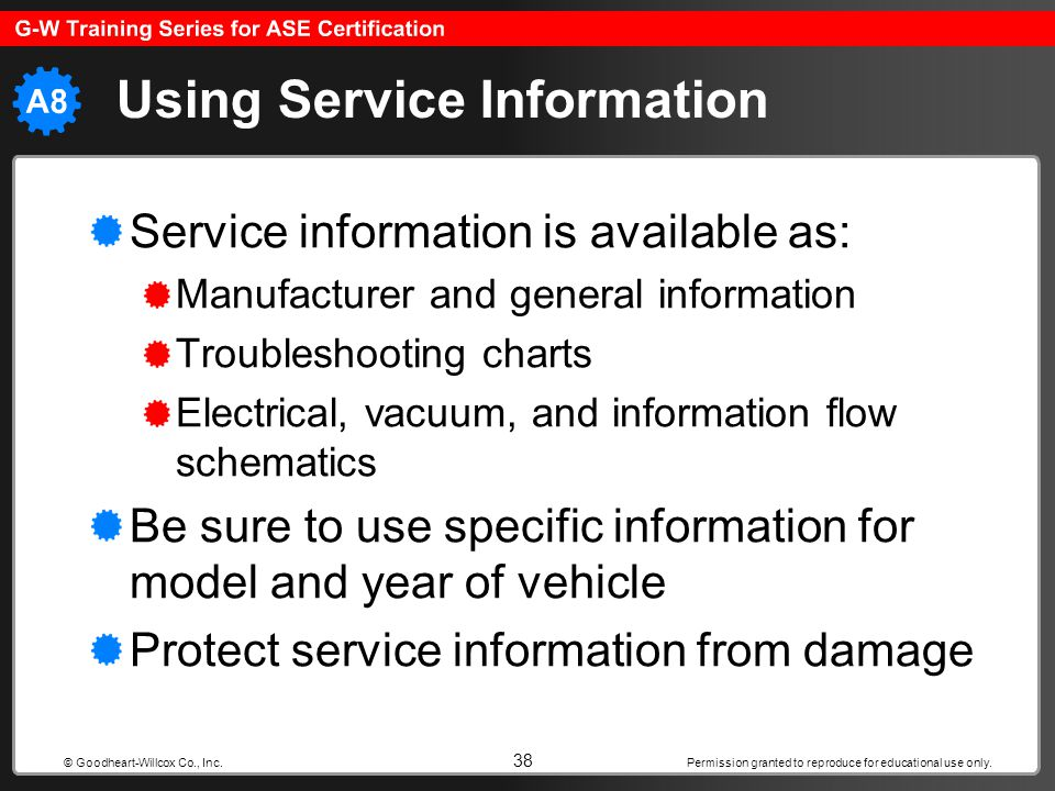 Using Service Information