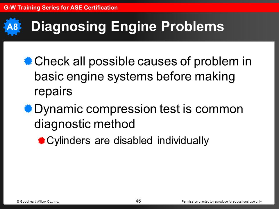 Diagnosing Engine Problems