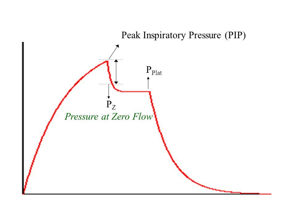 Peak Inspiratory Pressure (PIP)