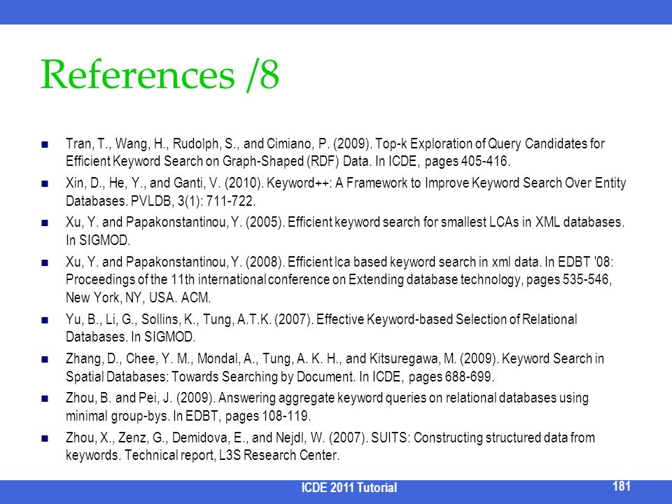 References /8