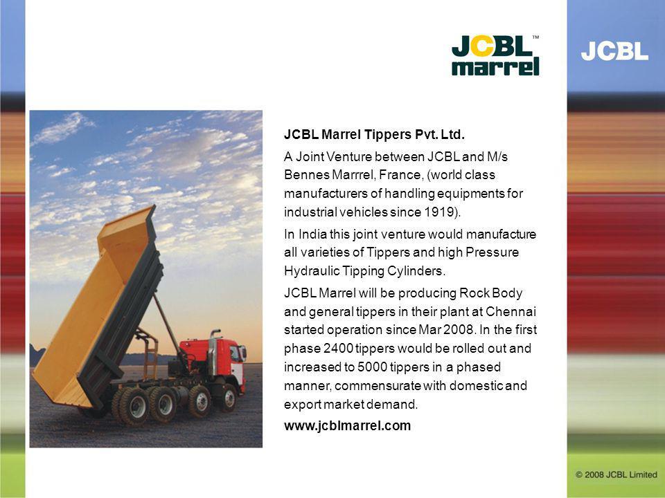 JCBL Marrel Tippers Pvt. Ltd.