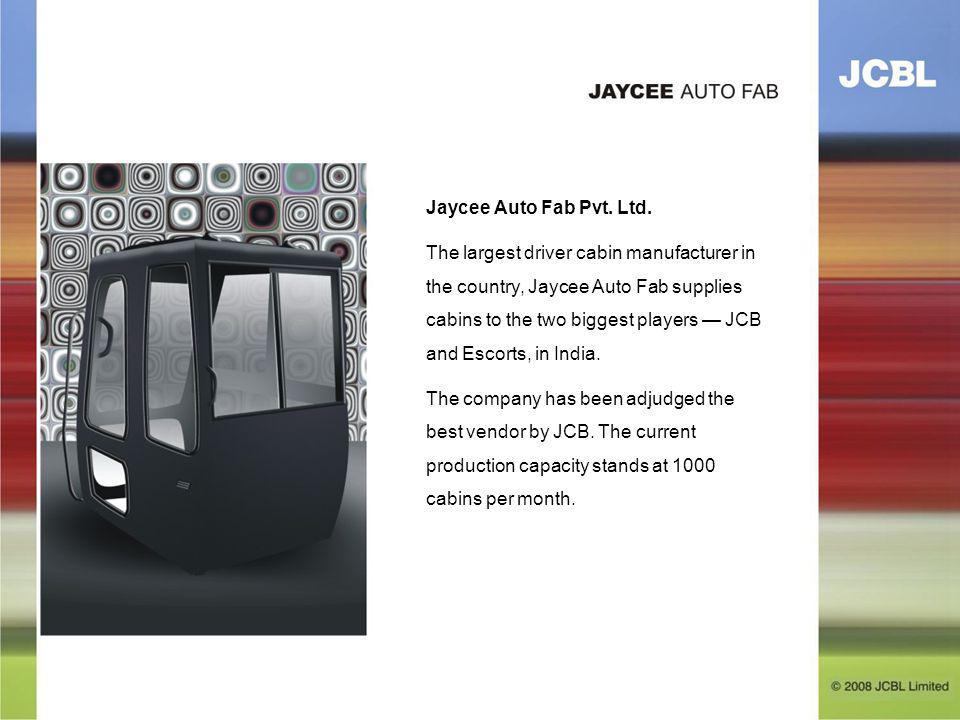 Jaycee Auto Fab Pvt. Ltd.