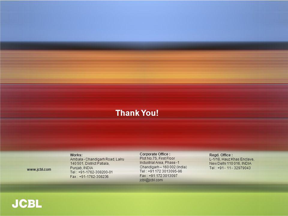 Thank You! Works: Ambala - Chandigarh Road, Lalru