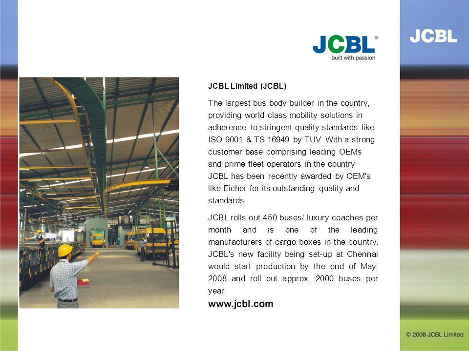 JCBL Limited (JCBL)