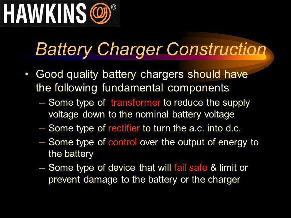 Battery Charger Construction