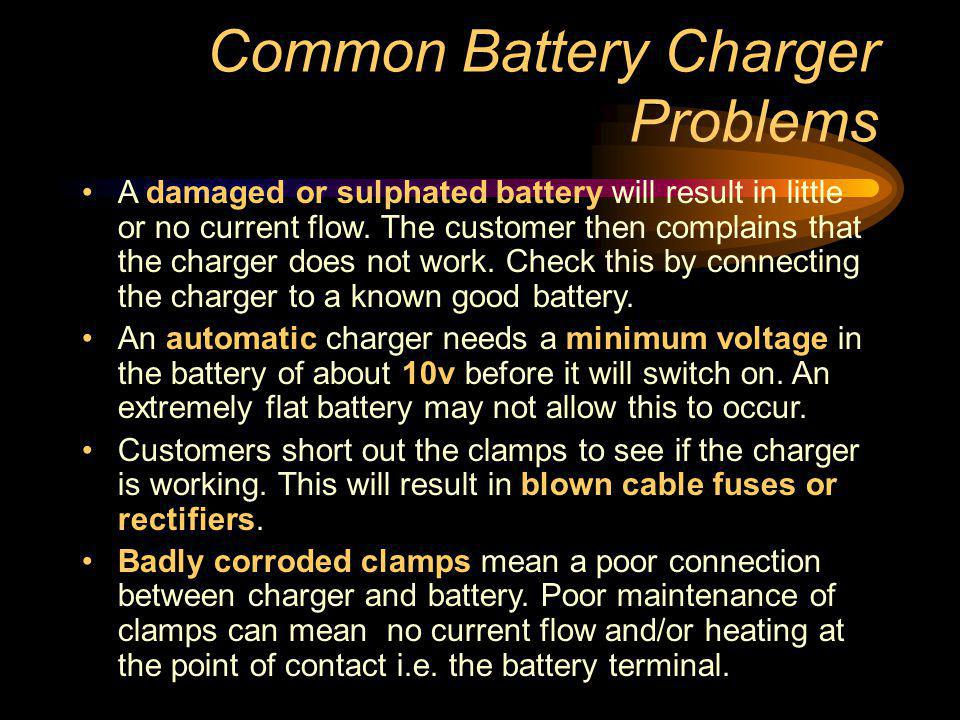 Common Battery Charger Problems