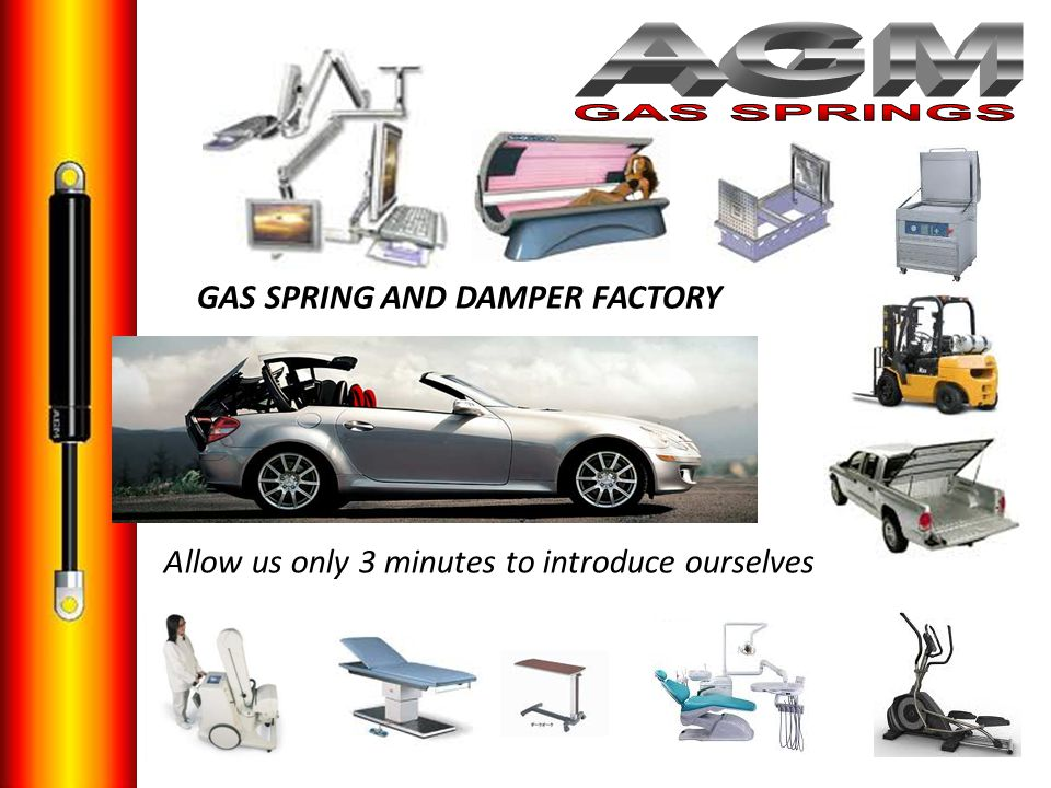 AGM GAS SPRINGS GAS SPRING AND DAMPER FACTORY a