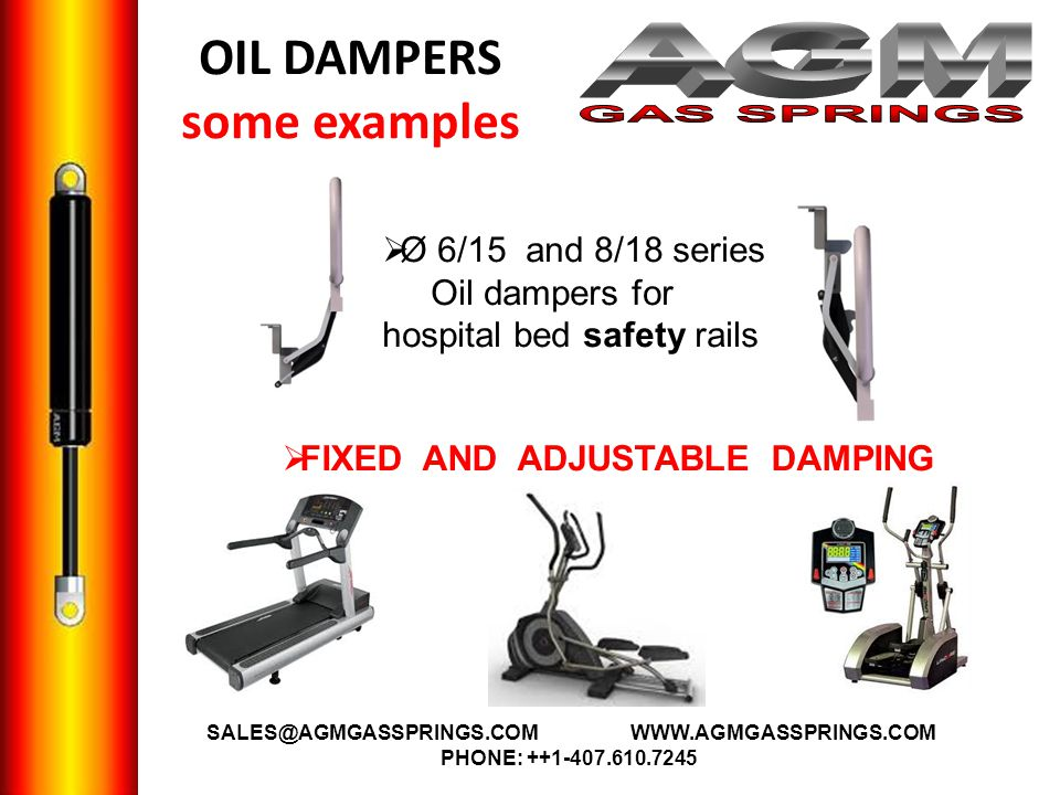 OIL DAMPERS some examples