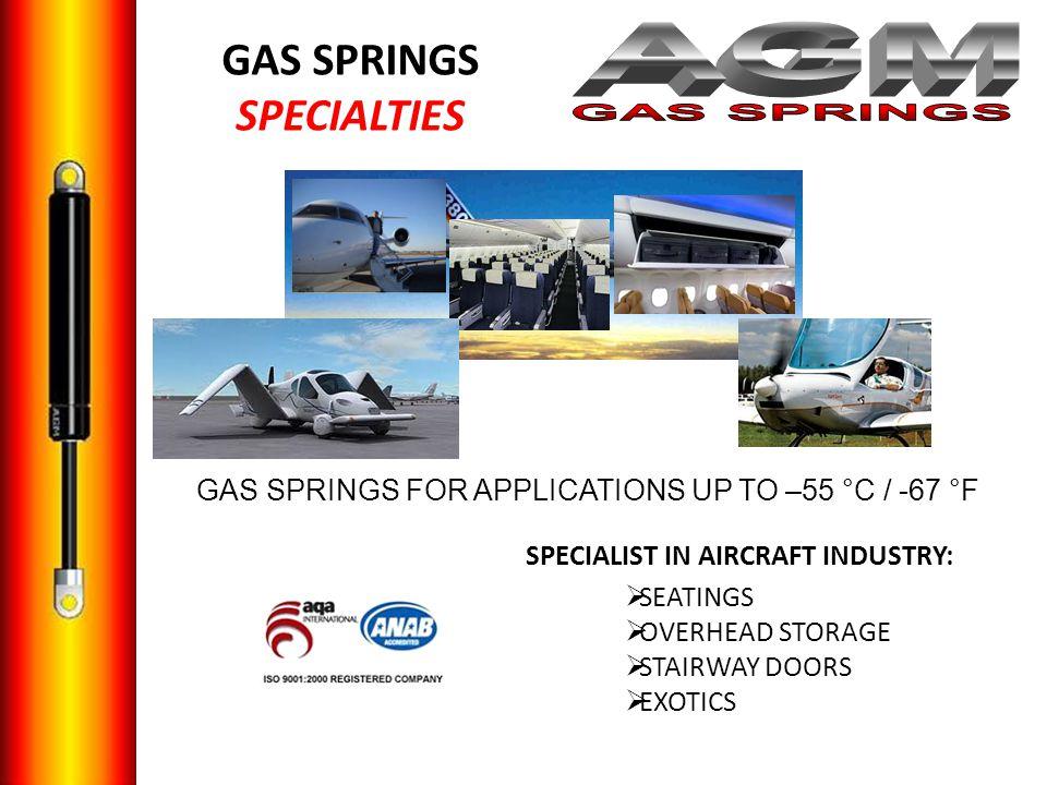 GAS SPRINGS SPECIALTIES