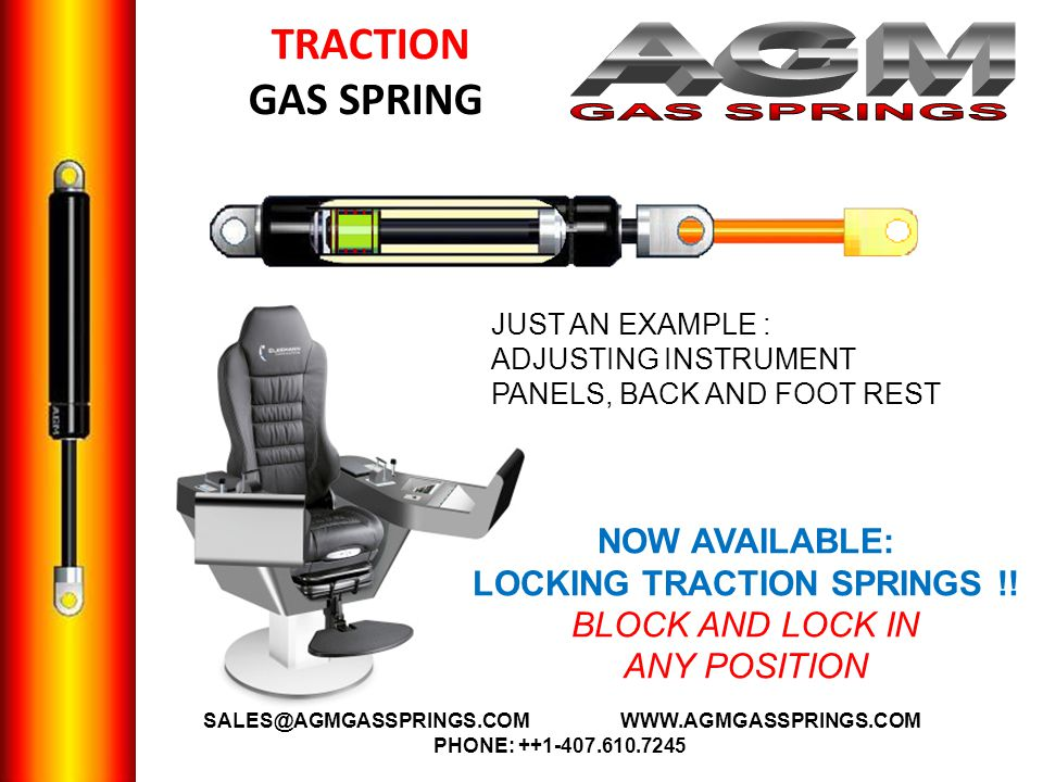 LOCKING TRACTION SPRINGS !! BLOCK AND LOCK IN