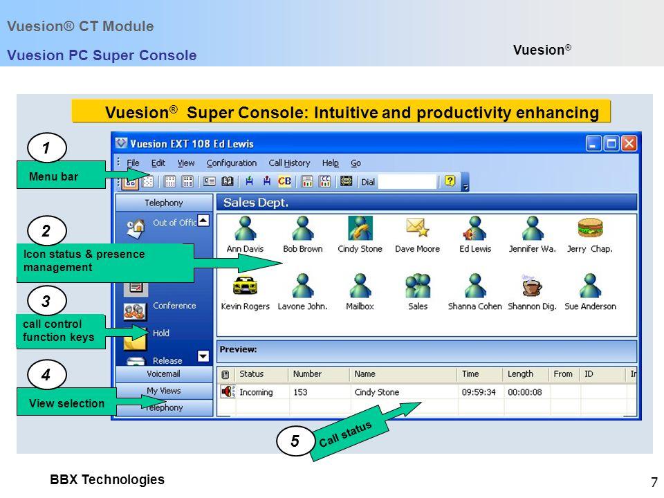Vuesion PC Super Console