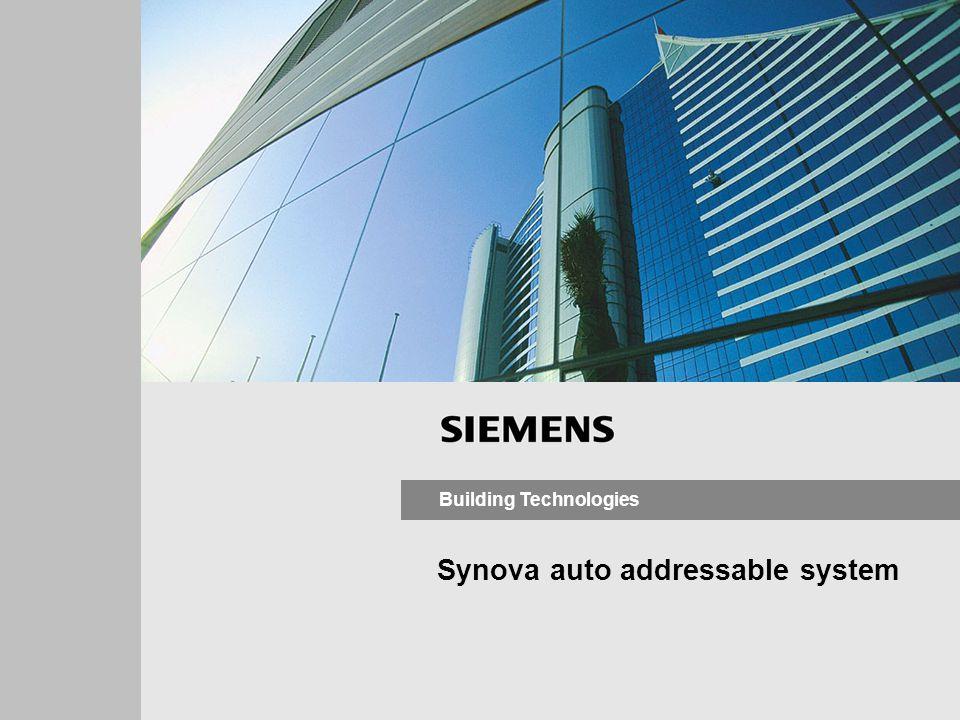 Synova auto addressable system