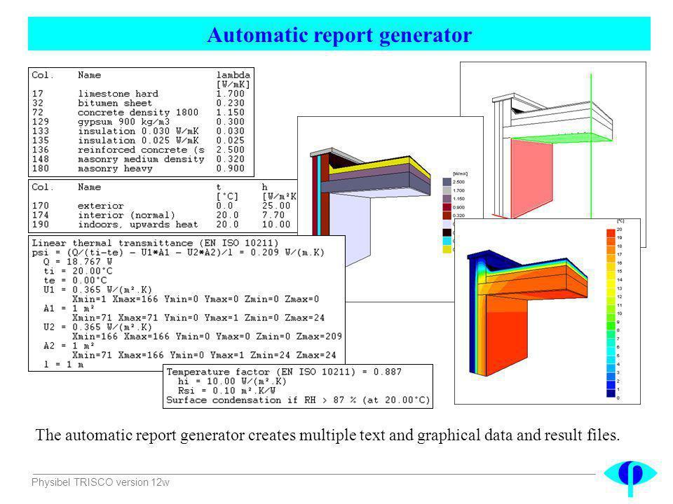 Automatic report generator