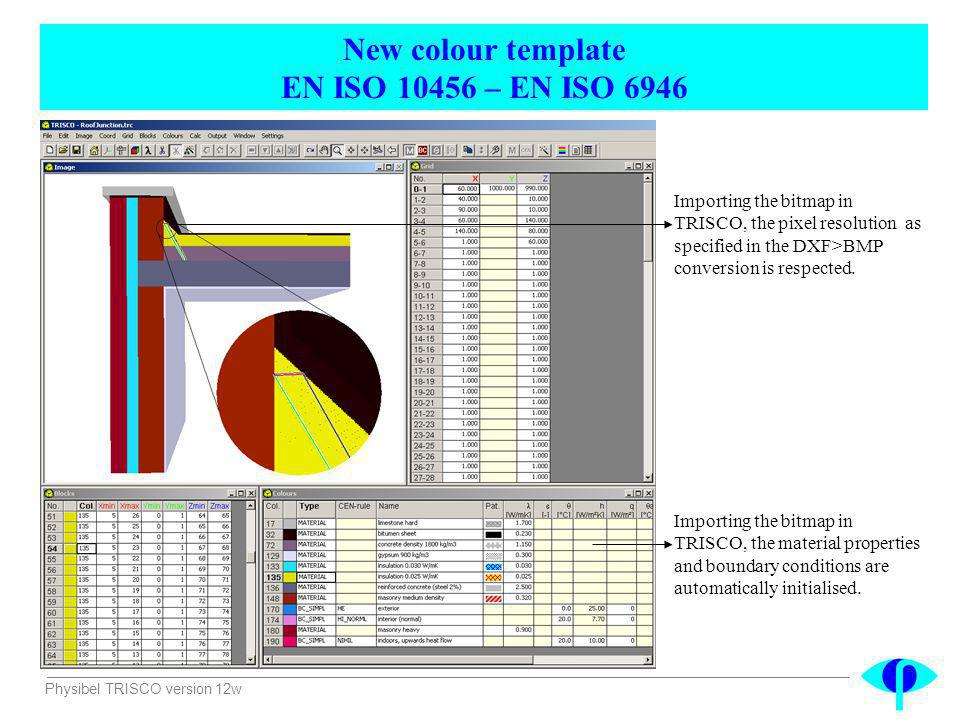 New colour template EN ISO 10456 – EN ISO 6946
