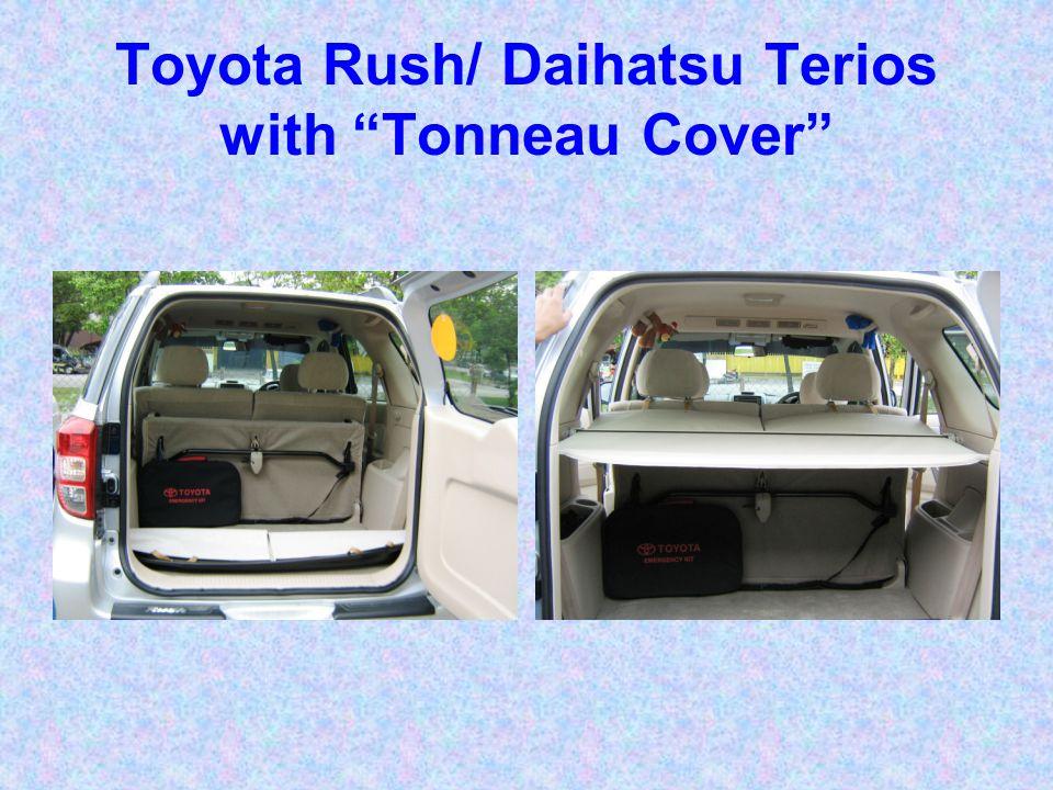 Toyota Rush/ Daihatsu Terios with Tonneau Cover