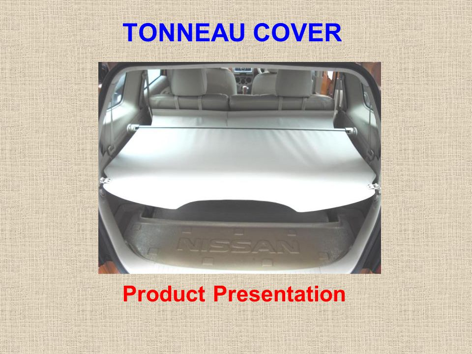 TONNEAU COVER Product Presentation
