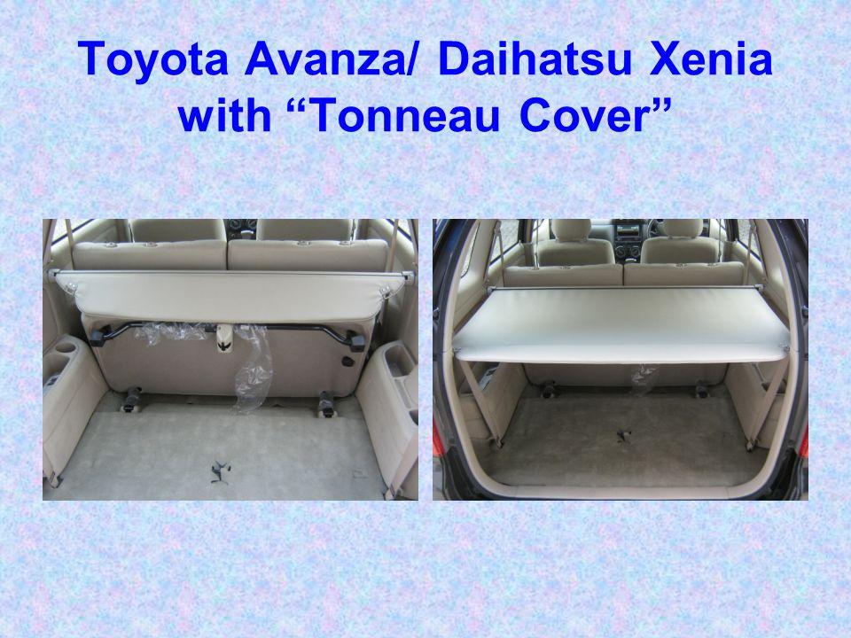 Toyota Avanza/ Daihatsu Xenia with Tonneau Cover