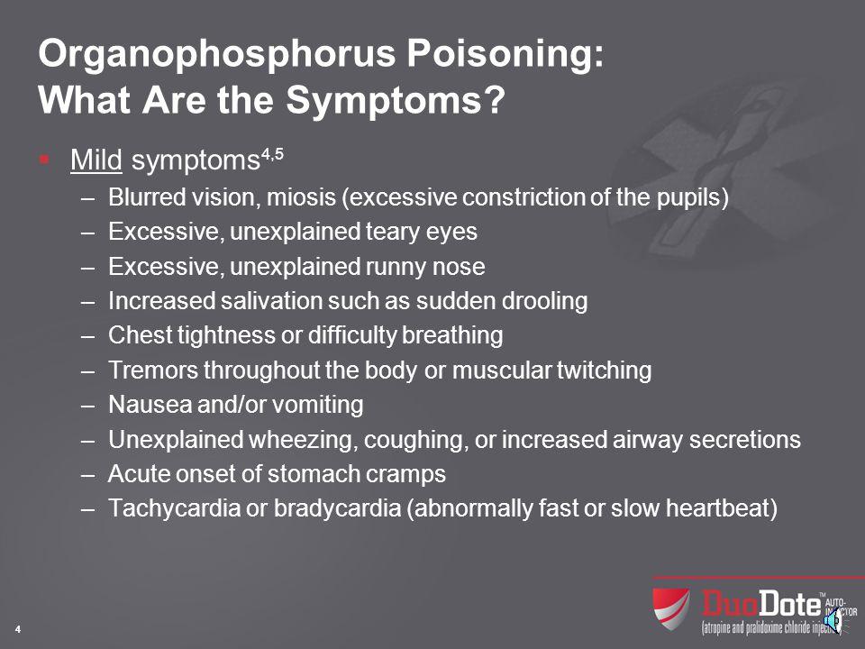Organophosphorus Poisoning: What Are the Symptoms (contd)