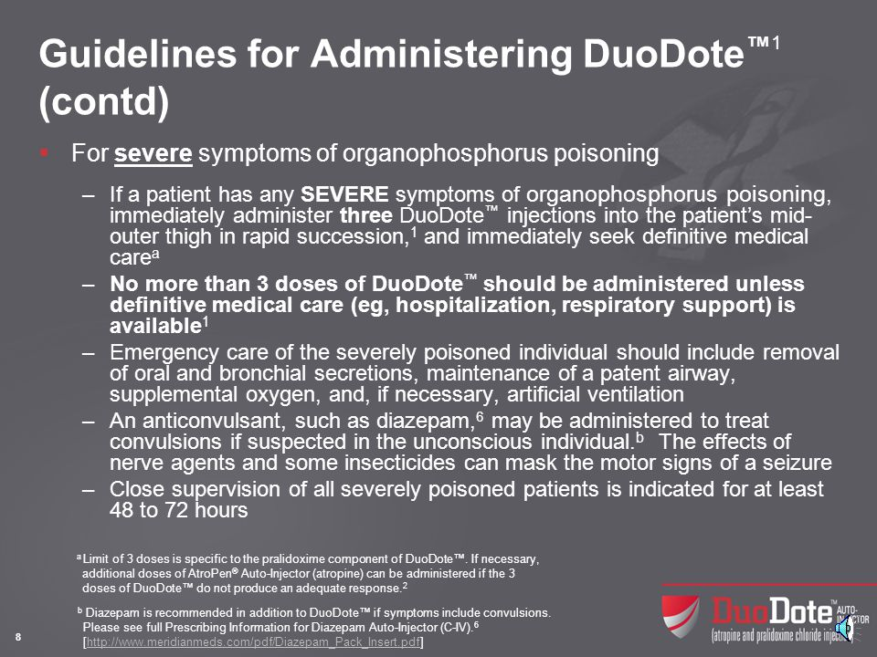DuoDote™ Injection Instructions1