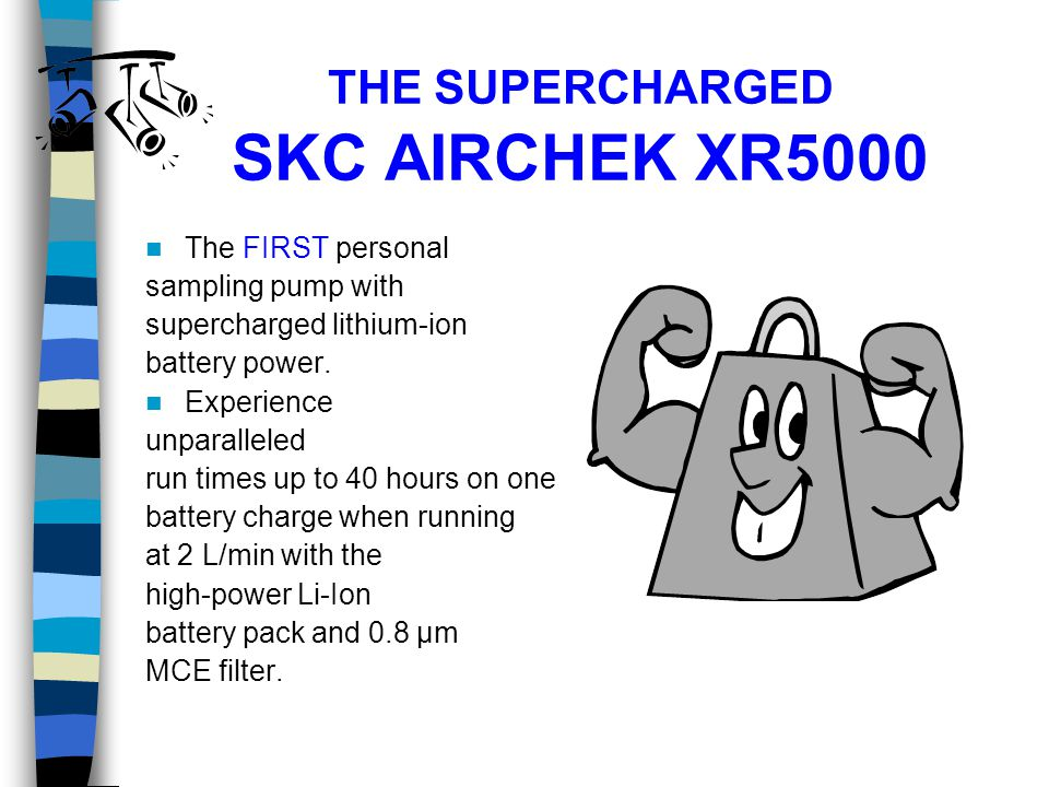 THE SUPERCHARGED SKC AIRCHEK XR5000