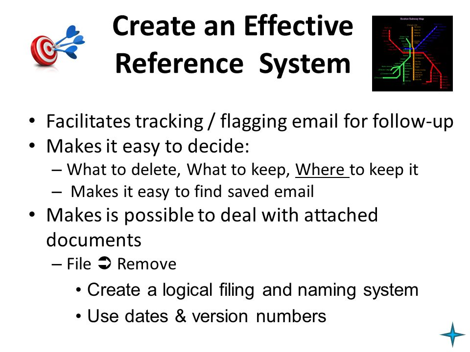 Create an Effective Reference System